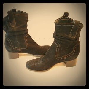 Women's Carlyle leather upper boots